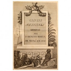 Cartas Mejicanas escritas en 1805.