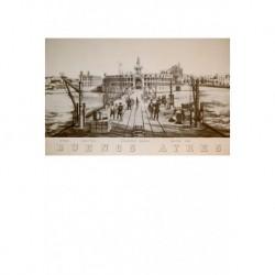 Vista del puerto y antigua aduana de Buenos Ayres.