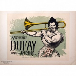 "Afiche para ""Marguerite Dufay""."
