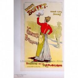 """Afiche para el de Théâtre de la Renaissance """"Eugénie Buffet, la chanteuse populaire""""."""