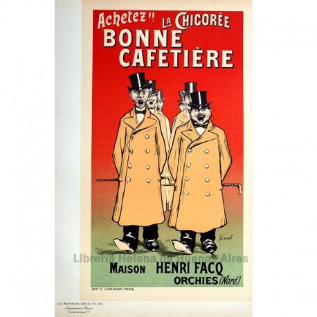 """Afiche para la """"Chicorée Bonne Cafetiére""""."""