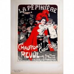 "Afiche para el concierto de la Pepiniére ""Chauffons! Chauffons!"""