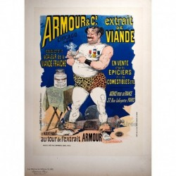 """Afiche para el """"Extrait de viande Armour"""""""