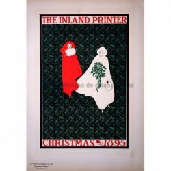 """Afiche estadounidense para el """"Inland Printer"""" (Navidad 1895)"""