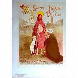 Afiche para el perdón de Saint-Jean-du-Doigt.