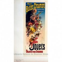 """Afiche para la raviste """"Buttes Chaumont"""" (Juguetes)"""