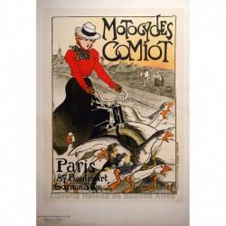 """Afiche para las """"Motocicletas Comiot"""""""