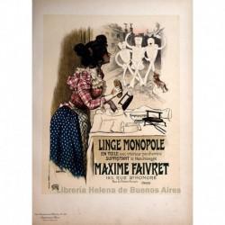 """Afiche para el """"Linge Monopole"""""""