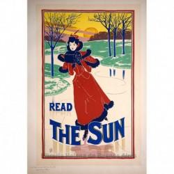 """Afiche estadounidense para el diario """"The Sun"""""""