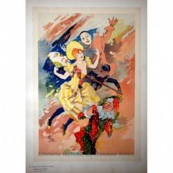"Tercer panel sin texto ""La Pantomima"""