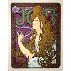 """Afiche para el """"Papier à Cigarettes Job"""""""