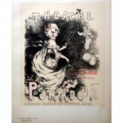 """Afiche para el """"Théâtre Pompadour"""""""