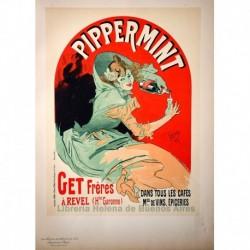 "Afiche para el ""Pippermint"""