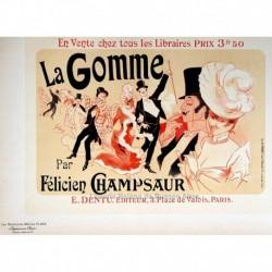 """Afiche para """"La Gomme"""""""