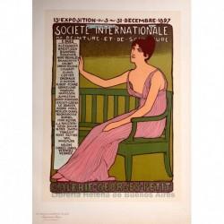 """Afiche para la galería """"Georges Petit"""""""