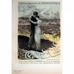 "Afiche parala Opéra-Comique ""Louise"""
