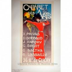 Afiche para el Salón de la Moda. (1896)