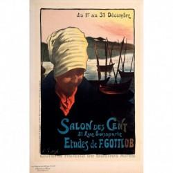 """Afiche para el """"Salon des Cent"""""""
