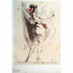 "Diseño original para Les Maîtres de l'Affiche. En lapiz, abajo: ""Píldoras para adelgazar"""