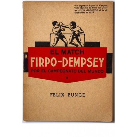 El match Firpo-Dempsey por el campeonato del mundo