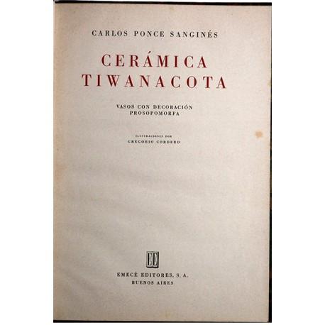 Cerámica Tiwanacota