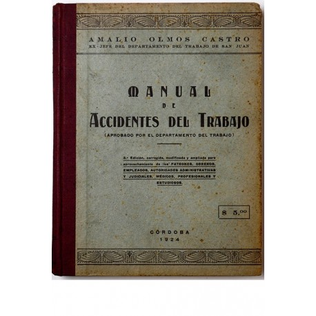 Manual de accidentes del trabajo