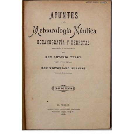 Apuntes de Meteorología Náutica, Oceanografía y Derrotas