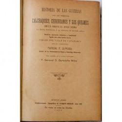 Historia de las guerras con los terribles calchaquíes, chiriguayos y los quilmes