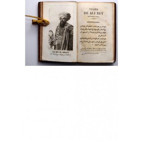 Viajes de Ali Bey El Abbassi por África y Asia durante los años 1803, 1804, 1805, 1806 y 1807.