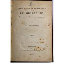 Apuntes para la biografía del brigadier general D. Juan Martín de Pueyrredon