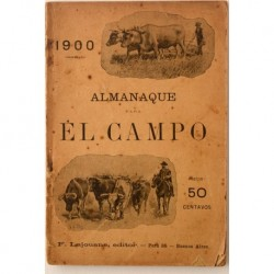 Almanaque para el campo. 1900 (primer año)